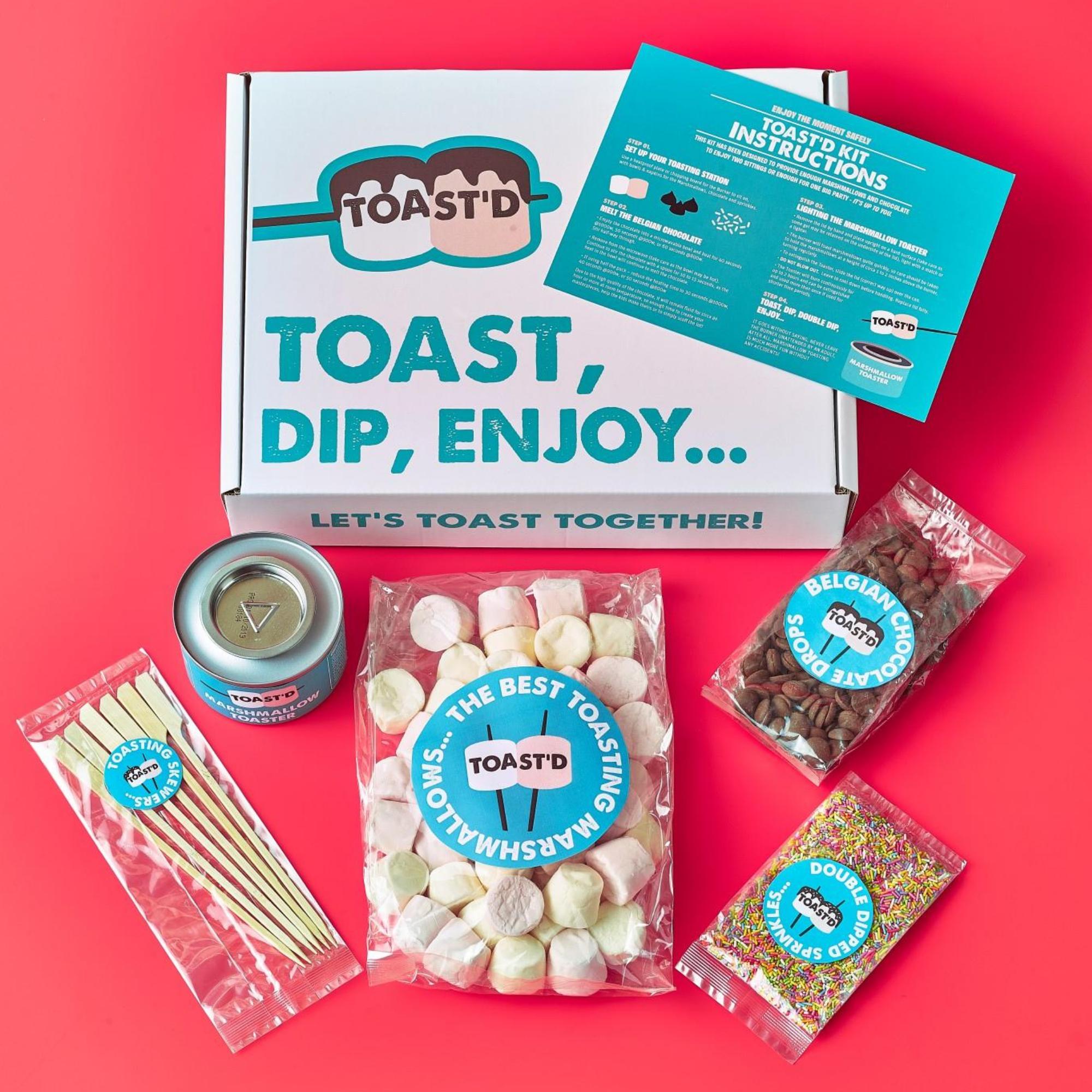 Toast'd marshmallow kit